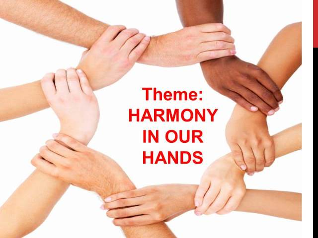 racial harmony essay Essay writing guide i think it's good that religion promotes racial harmony, as it shows that they have respect for all religions other than their own.